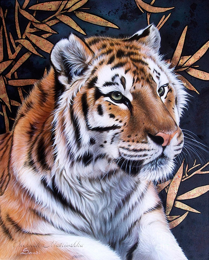 Awesome realistic drawings of animals 08