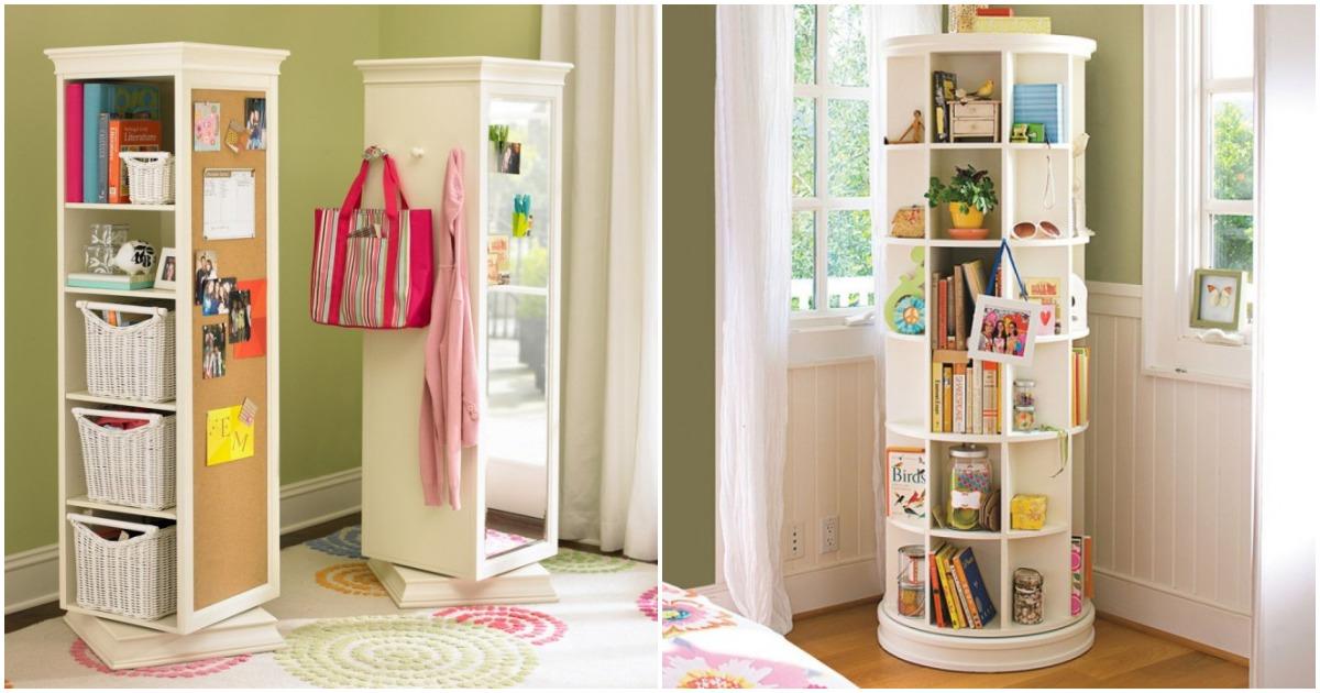 Удачные идеи, как и где хранить вещи в маленькой квартире