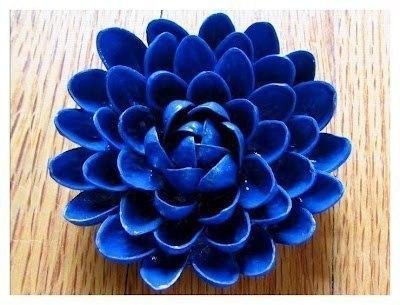 Как сделать цветок из фисташек мастер класс