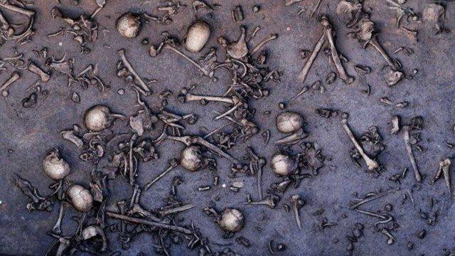 Забытая битва Бронзового века. Мумии и скелеты
