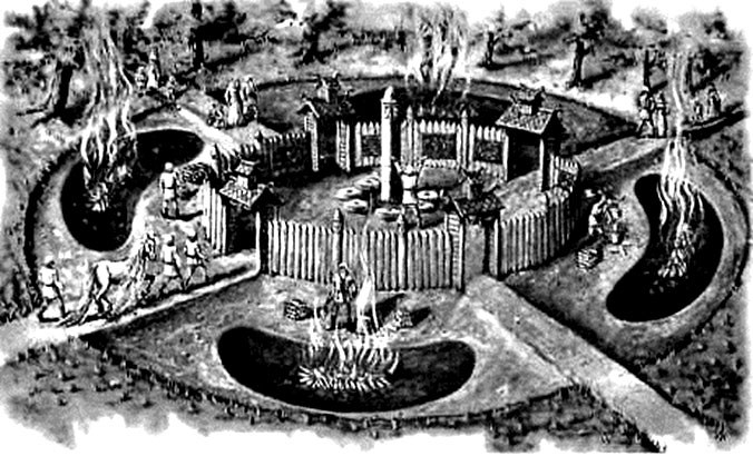 Многоликий Идол с Городища Старая Рязань