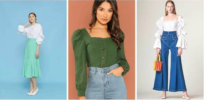 Топ-6 самых популярных блузок сезона весна-лето-2019