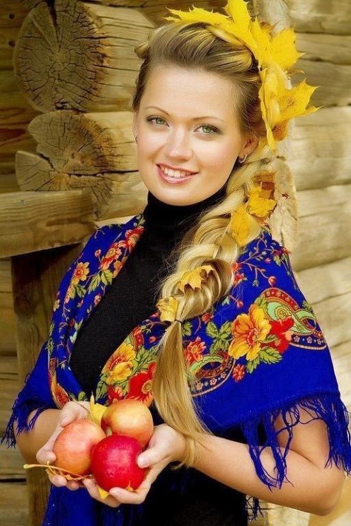 Девушек русское русских фото сеас