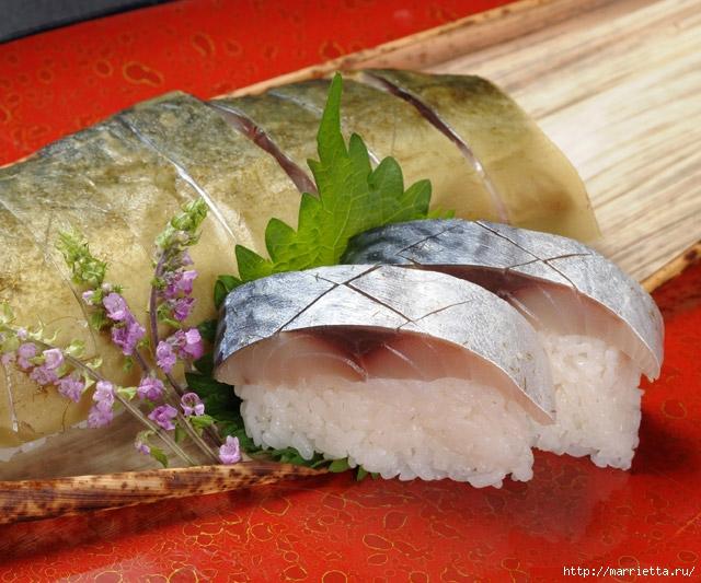 Суши из скумбрии - САБА СУШИ (17) (640x533, 253Kb)