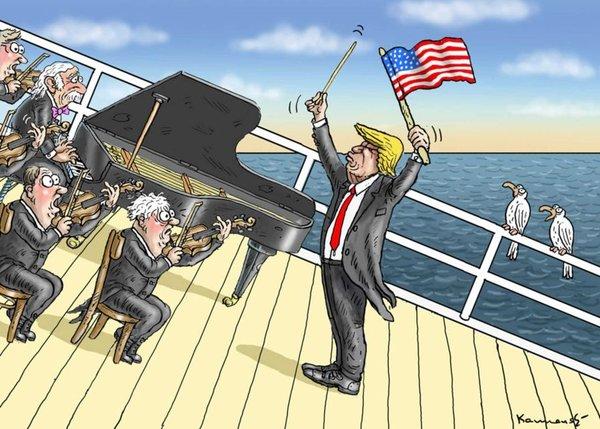 США захотели отключить себя …