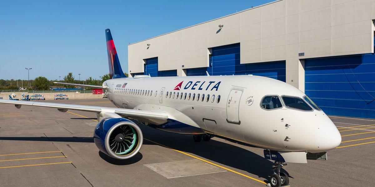 Airbus A220 начал экспансию в США