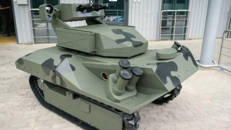 Белорусские оружейники показали новый роботизированный комплекс