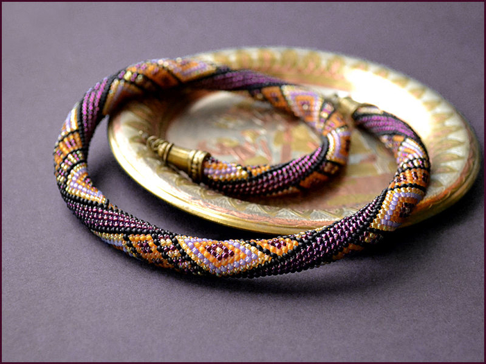 Бисерный шнур без проблем