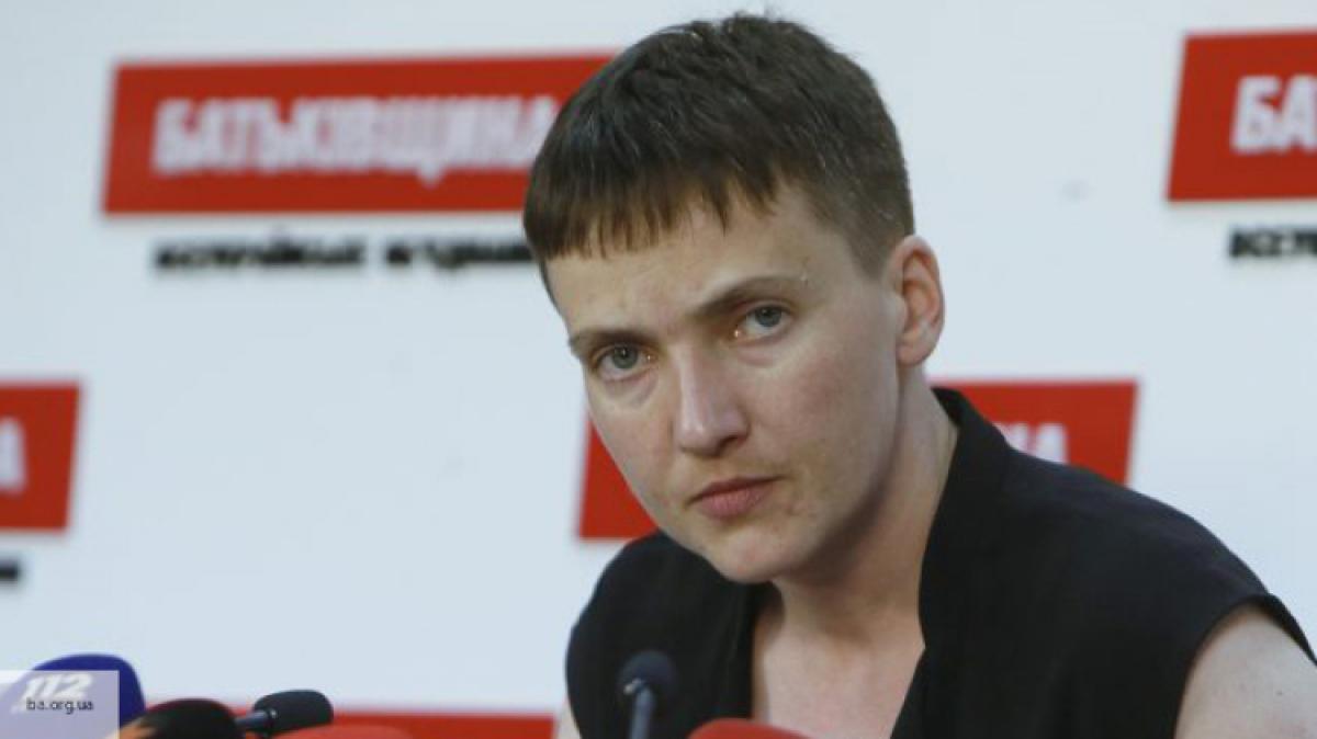 Савченко хочет организовать украинский аналог «Бессмертного полка»