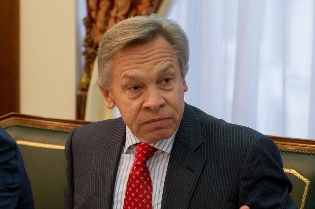 Пушков прокомментировал призыв Китая к США об отмене санкций