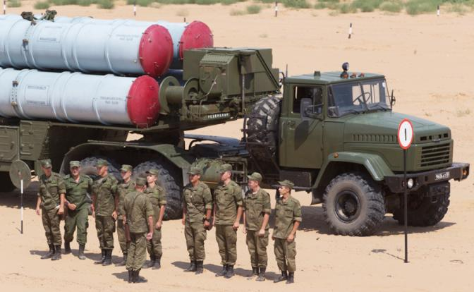 Началось: С-300 берет Израил…