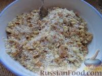 Фото приготовления рецепта: Шарики на кефире с ореховой начинкой - шаг №8
