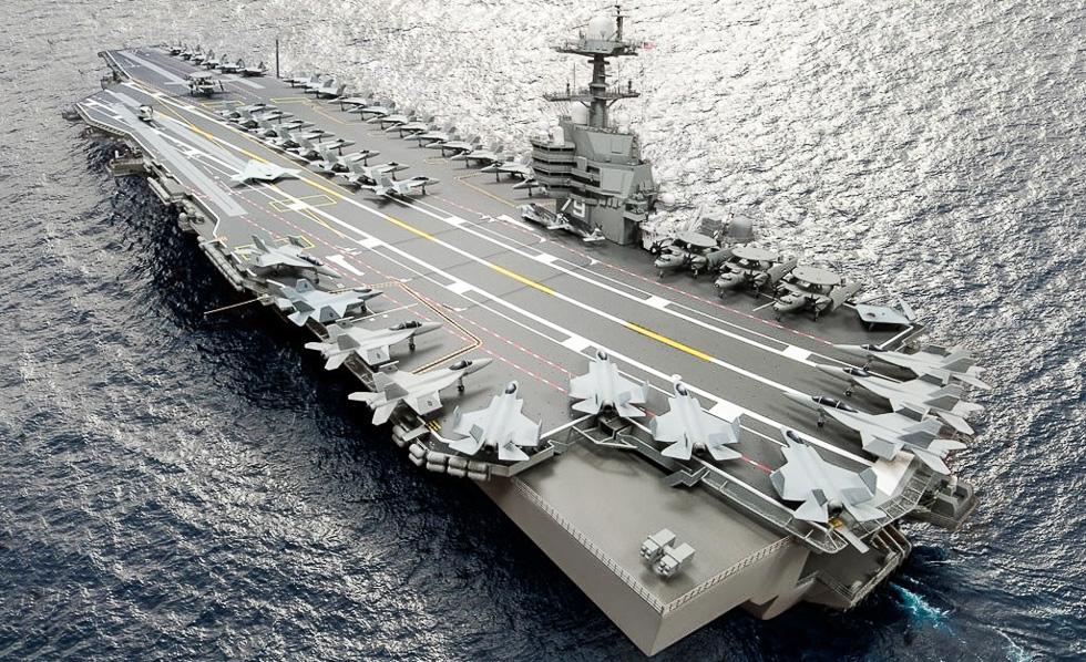 США начали строительство нового атомного авианосца CVN-80 «Энтерпрайз»