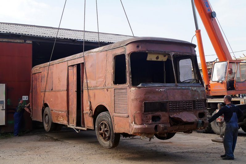 """История одного автобуса - КАвЗ 3100 """"Сибирь"""""""