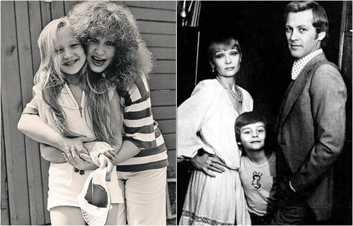 Неформальные фотографии советских знаменитостей с детьми