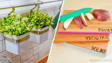 10 простых способов обновить кухню меньше чем за час