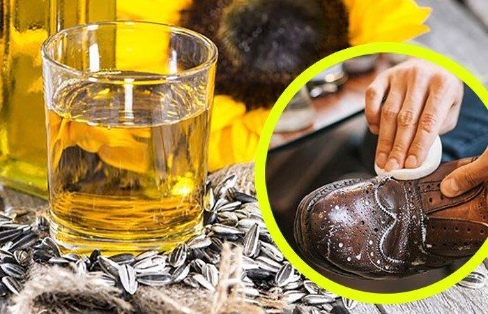 Необычные способы использования подсолнечного масла