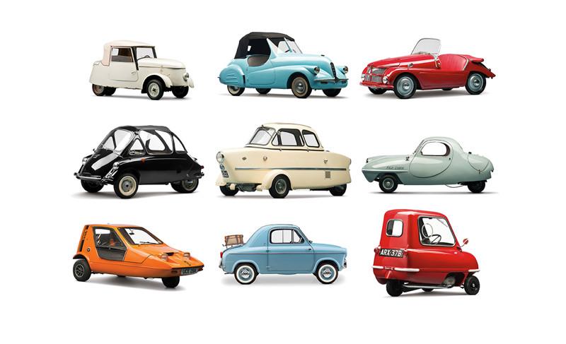 20 самых смешных малюсеньких автомобилей в мире