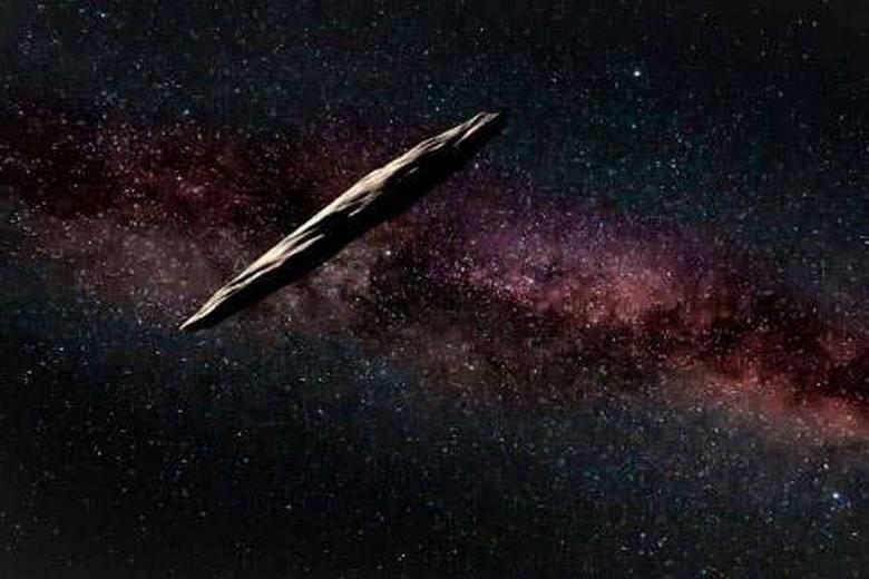 Астероид Оумуамуа загадочным образом исчез