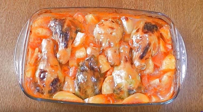 «Ножки в сапожках»: оригинальный рецепт голубцов на куриных ножках