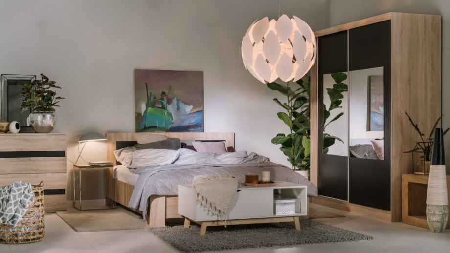 Модные аксессуары для современной спальни