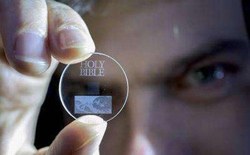Технология Eternal 5D позволит записать на один носитель всю историю человечества и хранить её бесконечно