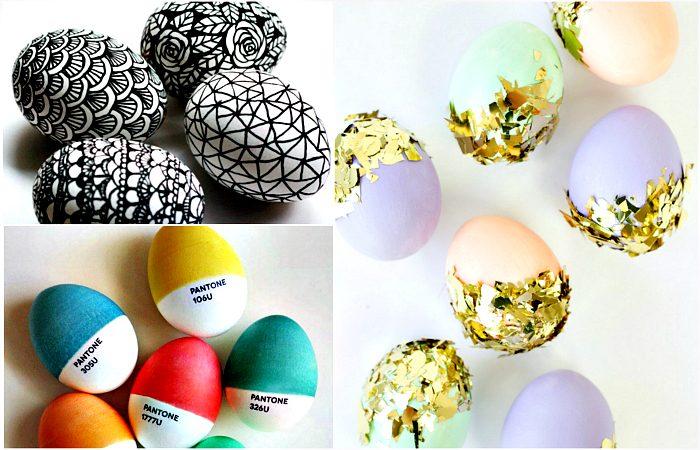 К празднику Пасхи: 20 великолепных идей декора яиц, которые стоит взять на вооружение