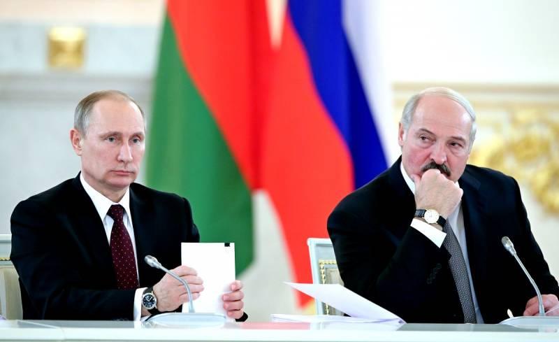 Белоруссию пытаются оторвать от России
