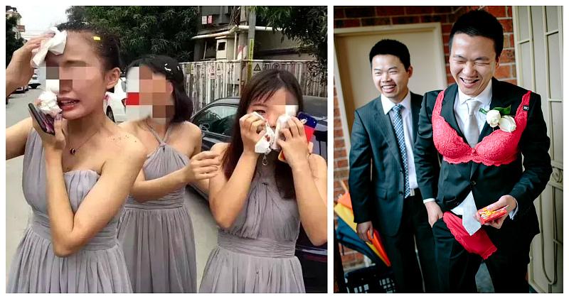 Травмоопасные свадебные традиции в Китае