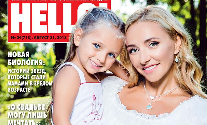 Татьяна Навка с дочерью Надей стали героинями нового номера HELLO!