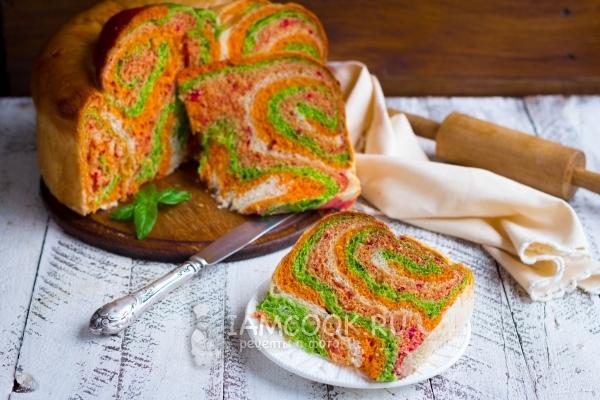 Австралийский овощной хлеб «Il Gianfornaio»