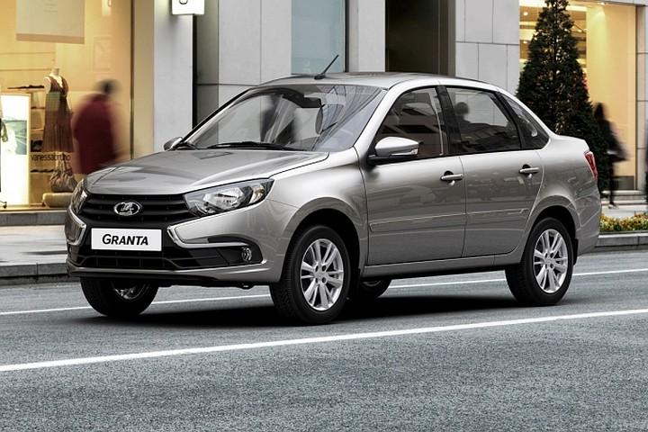 «АвтоВАЗ» представил обновленный седан Lada Granta