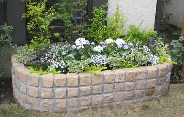 10 Приподнятых цветочных клумб в саду