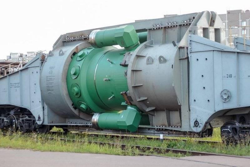 Последний реактор РИТМ-200 д…