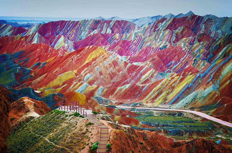 Данься, Китай в мире, красота, пейзажи, планета