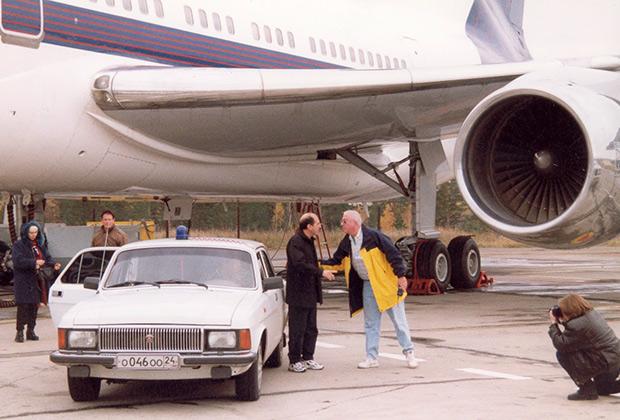 Борис Березовский прилетел в Красноярск