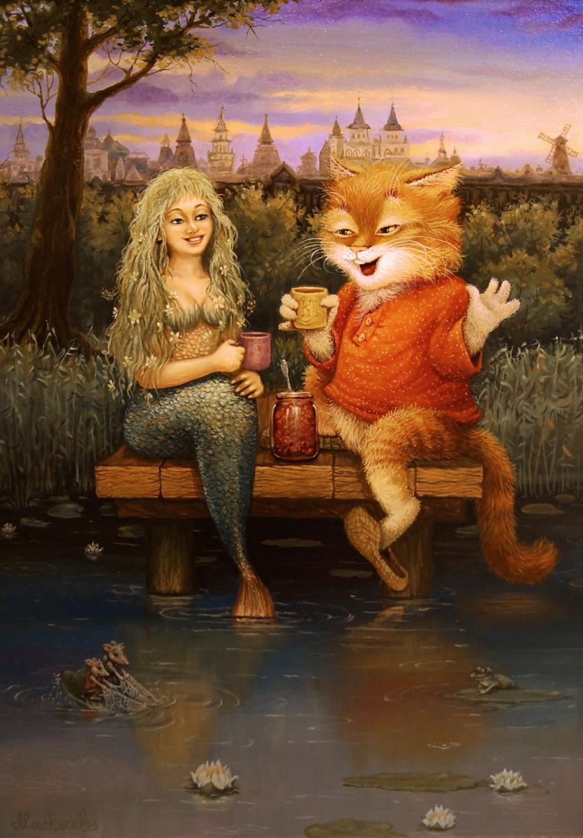 Кошачьи сказки Александра Маскаева