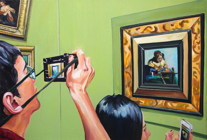 Впечатления от Лувра: картины по воспоминаниям о посещении самого знаменитого музея в мире