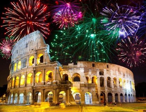 Итальянский фейерверк.<br /> <br /> Итальянцы известны тем, что превратили фейерверк в художественное произведение искусства.