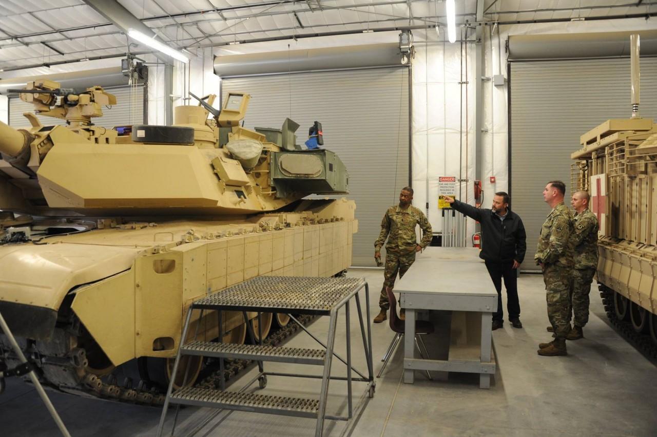 Модернизированный танк M1A2C (M1A2SEPv3) Abrams в полной комплектации