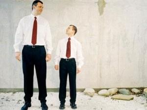 Мужчины становятся выше ростом на 10 сантиметров за 100 лет