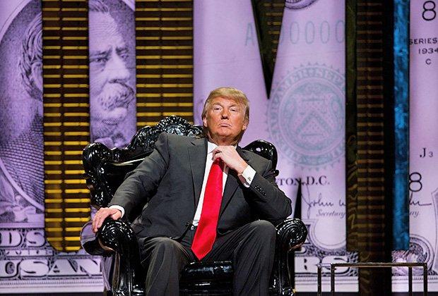 Дональд Трамп как Иосиф Сталин