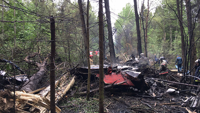 Пилот разбившегося Су-27 сделал все, чтобы отвести самолет от домов