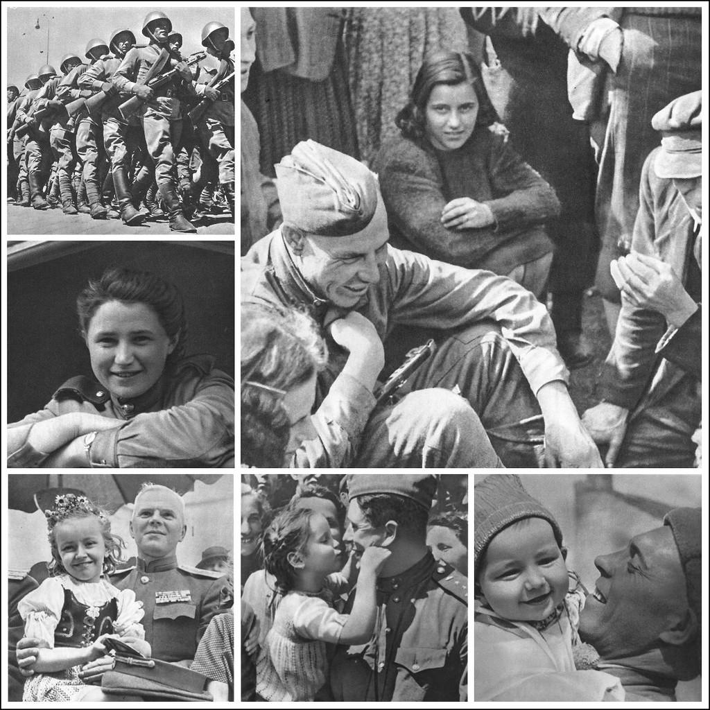 Освобождение Чехословакии. (75 ФОТО)
