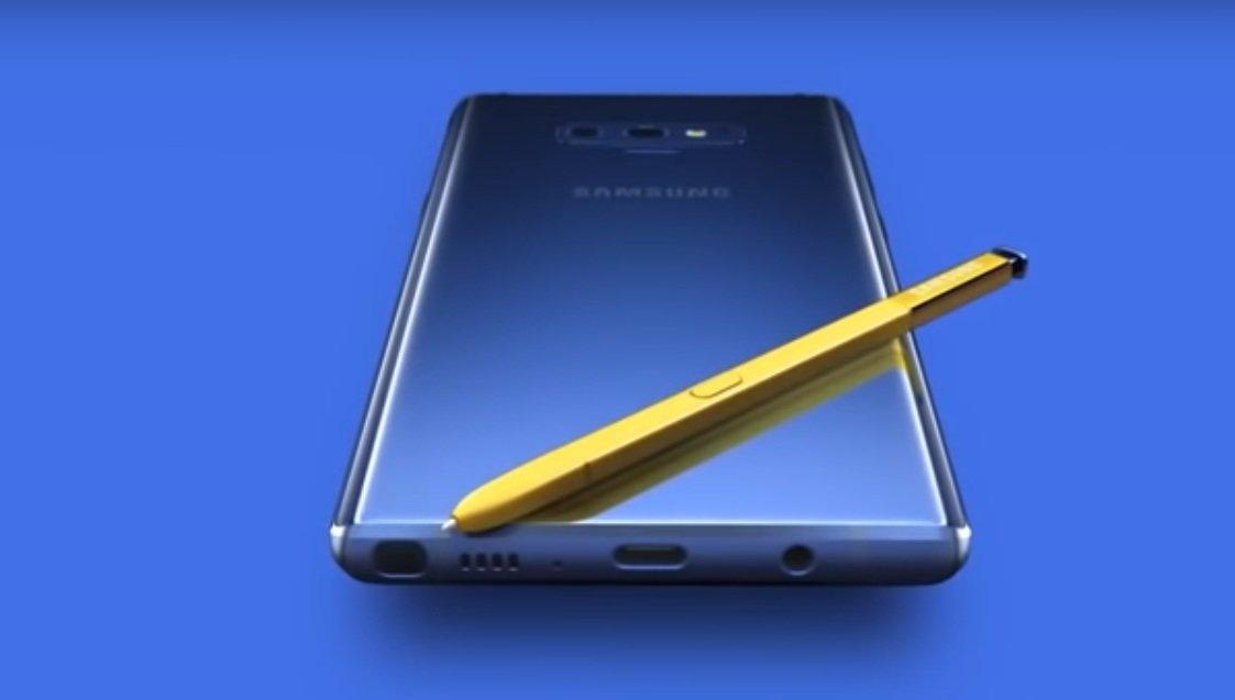 Эксперты обнаружили серьезные проблемы с камерой в Samsung Galaxy Note 9