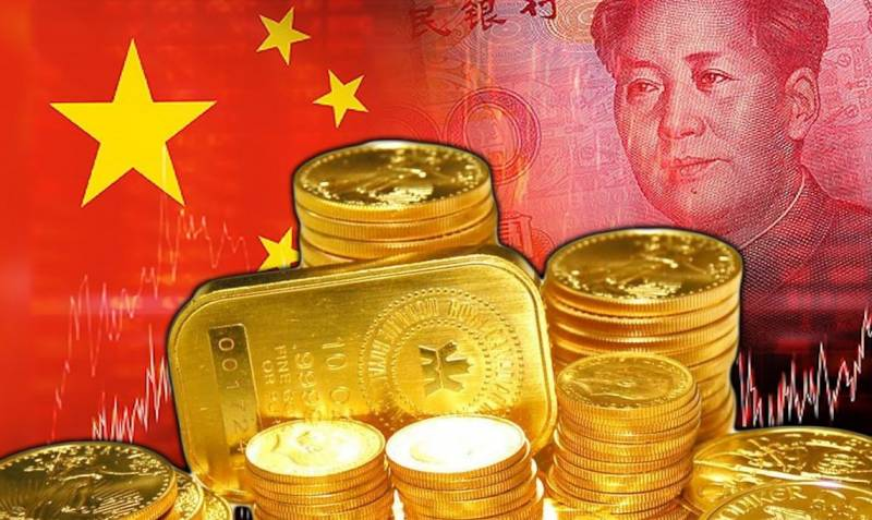 Китайский треугольник: нефть – юань – золото