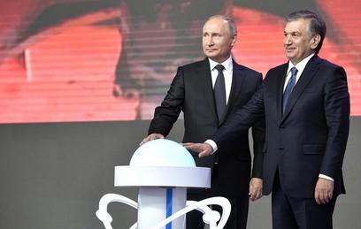 Путин и Мирзиёев дали старт проекту строительства АЭС в Узбекистане