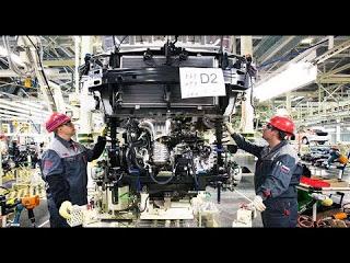 Как делают Toyota Camry