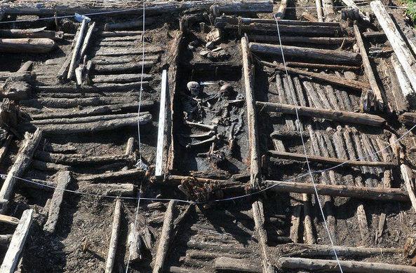 На Ямале нашли загадочное захоронение