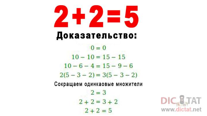 2+2=5: ИЛИ КАК СВЕСТИ С УМА …